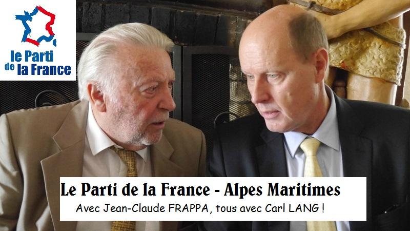 Le Parti de la France – Alpes Maritimes